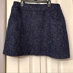 Express Wool Blend Tweed Skirt, NWOT, 13/14